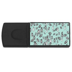 Cockroach Insects Usb Flash Drive Rectangular (4 Gb) by Mariart