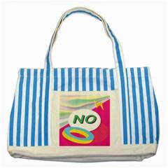 Lightning Polka Dots Circle Pink Waves Behance Feelings Beauty Striped Blue Tote Bag by Mariart