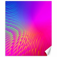 Light Aurora Pink Purple Gold Canvas 8  X 10  by Mariart