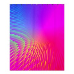 Light Aurora Pink Purple Gold Shower Curtain 60  X 72  (medium)  by Mariart