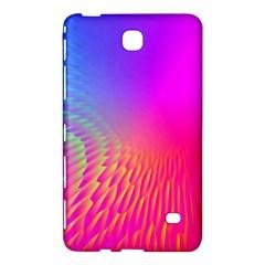 Light Aurora Pink Purple Gold Samsung Galaxy Tab 4 (7 ) Hardshell Case  by Mariart