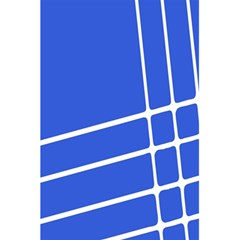 Line Stripes Blue 5 5  X 8 5  Notebooks by Mariart