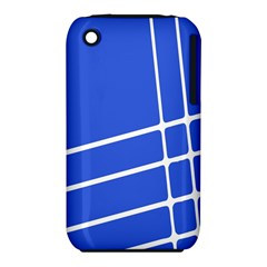 Line Stripes Blue Iphone 3s/3gs by Mariart