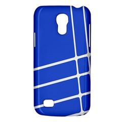 Line Stripes Blue Galaxy S4 Mini by Mariart