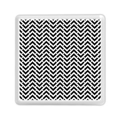 Funky Chevron Stripes Triangles Memory Card Reader (square)  by Mariart