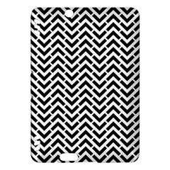 Funky Chevron Stripes Triangles Kindle Fire Hdx Hardshell Case by Mariart