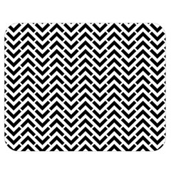 Funky Chevron Stripes Triangles Double Sided Flano Blanket (medium)  by Mariart