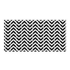 Funky Chevron Stripes Triangles Satin Wrap by Mariart