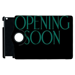 Opening Soon Sign Apple Ipad 3/4 Flip 360 Case by Mariart