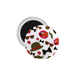 Lip Hat Vector Hipster Example Image Star Sexy 1 75  Magnets by Mariart