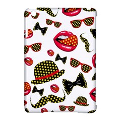 Lip Hat Vector Hipster Example Image Star Sexy Apple Ipad Mini Hardshell Case (compatible With Smart Cover) by Mariart