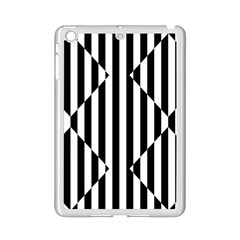 Optical Illusion Inverted Diamonds Ipad Mini 2 Enamel Coated Cases by Mariart