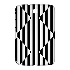 Optical Illusion Inverted Diamonds Samsung Galaxy Note 8 0 N5100 Hardshell Case  by Mariart