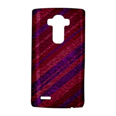 Maroon Striped Texture Lg G4 Hardshell Case by Mariart