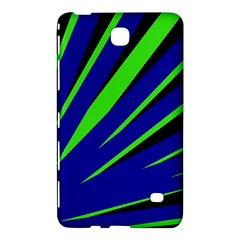 Rays Light Chevron Blue Green Black Samsung Galaxy Tab 4 (8 ) Hardshell Case  by Mariart