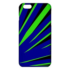 Rays Light Chevron Blue Green Black Iphone 6 Plus/6s Plus Tpu Case by Mariart