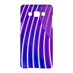 Rays Light Chevron Blue Purple Line Light Samsung Galaxy A5 Hardshell Case