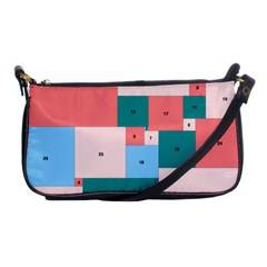 Simple Perfect Squares Squares Order Shoulder Clutch Bags by Mariart