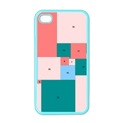 Simple Perfect Squares Squares Order Apple Iphone 4 Case (color) by Mariart