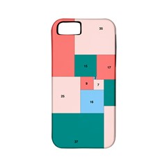 Simple Perfect Squares Squares Order Apple Iphone 5 Classic Hardshell Case (pc+silicone) by Mariart