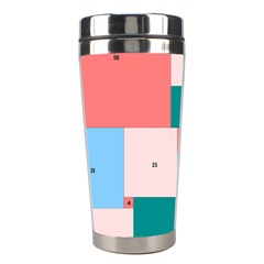 Simple Perfect Squares Squares Order Stainless Steel Travel Tumblers by Mariart