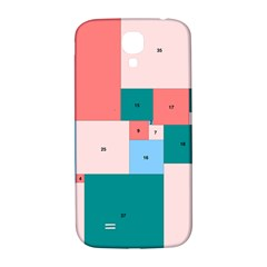 Simple Perfect Squares Squares Order Samsung Galaxy S4 I9500/i9505  Hardshell Back Case by Mariart