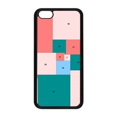 Simple Perfect Squares Squares Order Apple Iphone 5c Seamless Case (black) by Mariart