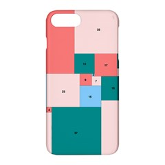 Simple Perfect Squares Squares Order Apple Iphone 7 Plus Hardshell Case by Mariart