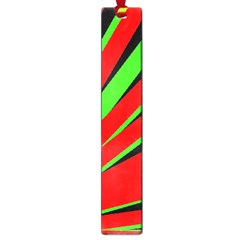 Rays Light Chevron Red Green Black Large Book Marks by Mariart