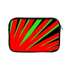 Rays Light Chevron Red Green Black Apple Ipad Mini Zipper Cases by Mariart