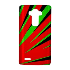 Rays Light Chevron Red Green Black Lg G4 Hardshell Case by Mariart