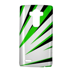 Rays Light Chevron White Green Black Lg G4 Hardshell Case by Mariart