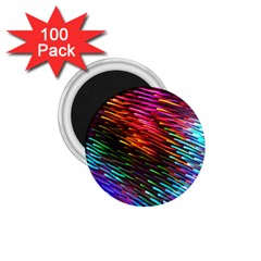 Rainbow Shake Light Line 1 75  Magnets (100 Pack)  by Mariart
