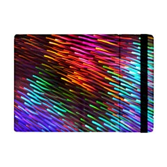 Rainbow Shake Light Line Apple Ipad Mini Flip Case by Mariart