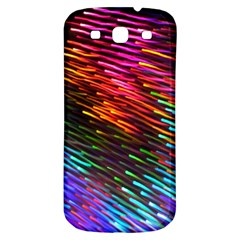 Rainbow Shake Light Line Samsung Galaxy S3 S Iii Classic Hardshell Back Case by Mariart