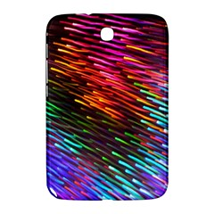 Rainbow Shake Light Line Samsung Galaxy Note 8 0 N5100 Hardshell Case  by Mariart
