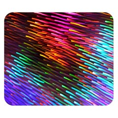 Rainbow Shake Light Line Double Sided Flano Blanket (small)  by Mariart