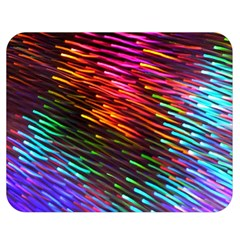 Rainbow Shake Light Line Double Sided Flano Blanket (medium)  by Mariart
