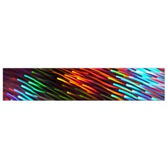 Rainbow Shake Light Line Flano Scarf (small) by Mariart