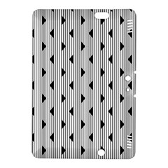 Stripes Line Triangles Vertical Black Kindle Fire Hdx 8 9  Hardshell Case by Mariart