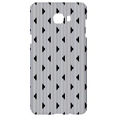 Stripes Line Triangles Vertical Black Samsung C9 Pro Hardshell Case  by Mariart