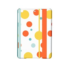 Stripes Dots Line Circle Vertical Yellow Red Blue Polka Ipad Mini 2 Hardshell Cases by Mariart