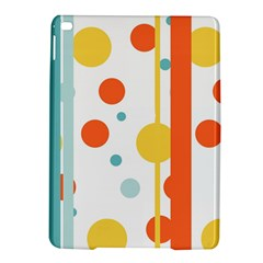 Stripes Dots Line Circle Vertical Yellow Red Blue Polka Ipad Air 2 Hardshell Cases by Mariart