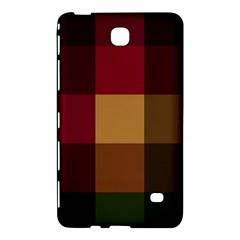 Stripes Plaid Color Samsung Galaxy Tab 4 (7 ) Hardshell Case  by Mariart