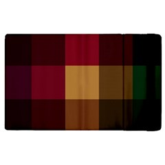 Stripes Plaid Color Apple Ipad Pro 12 9   Flip Case by Mariart