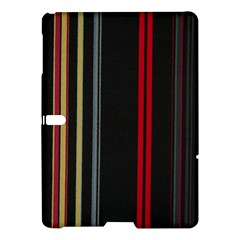 Stripes Line Black Red Samsung Galaxy Tab S (10 5 ) Hardshell Case  by Mariart