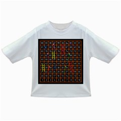 Snakes Ladders Game Plaid Number Infant/toddler T Shirts by Mariart