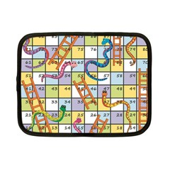 Snakes Ladders Game Board Netbook Case (small)  by Mariart