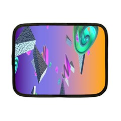 Triangle Wave Rainbow Netbook Case (small)  by Mariart