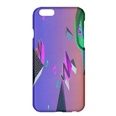 Triangle Wave Rainbow Apple Iphone 6 Plus/6s Plus Hardshell Case by Mariart